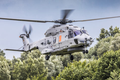 NH90 Sea Lion enters qualification phase