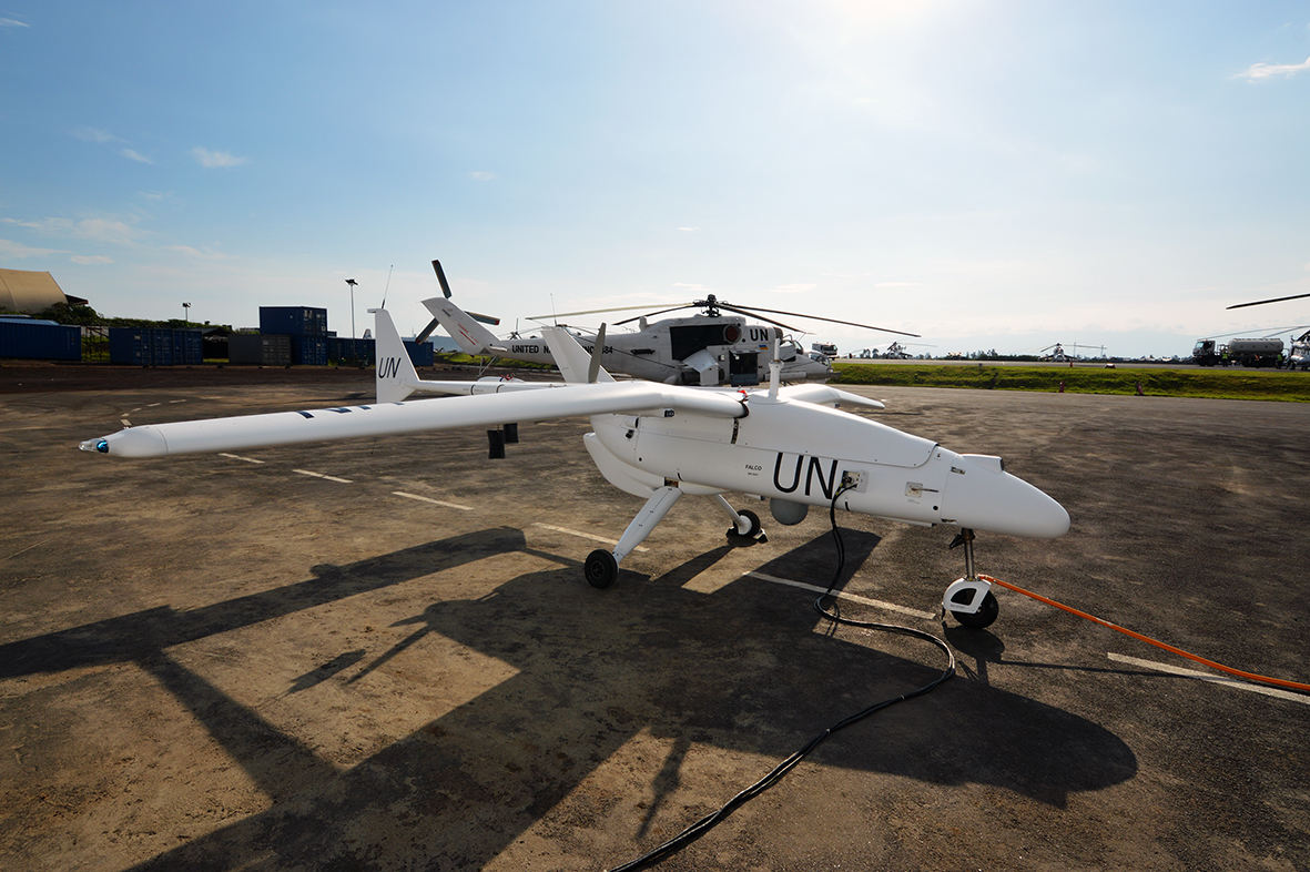 Les drones Falco de Leonardo atteignent 15 000 heures de vol
