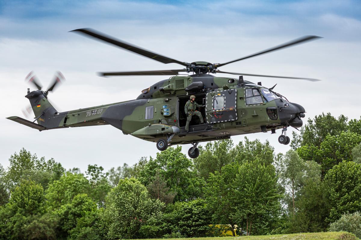 Airbus et EFW feront le MCO des NH90 de la Bundeswehr