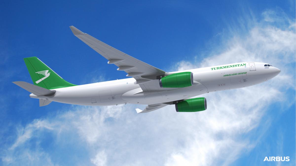 Airbus place son A330P2F chez Turkmenistan Airlines
