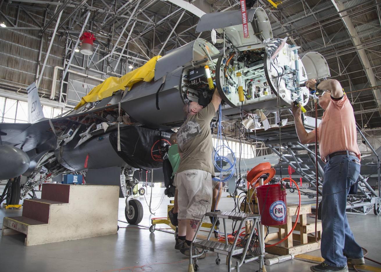 Des radars APG-83 pour les F-16 de l'Air National Guard