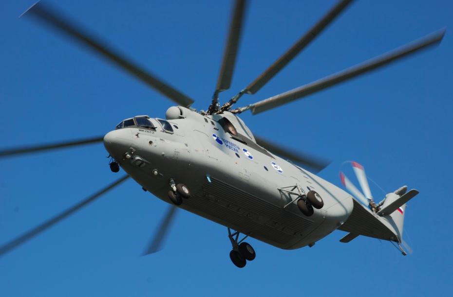 Le premier Mi-26T2V sera bientôt livré