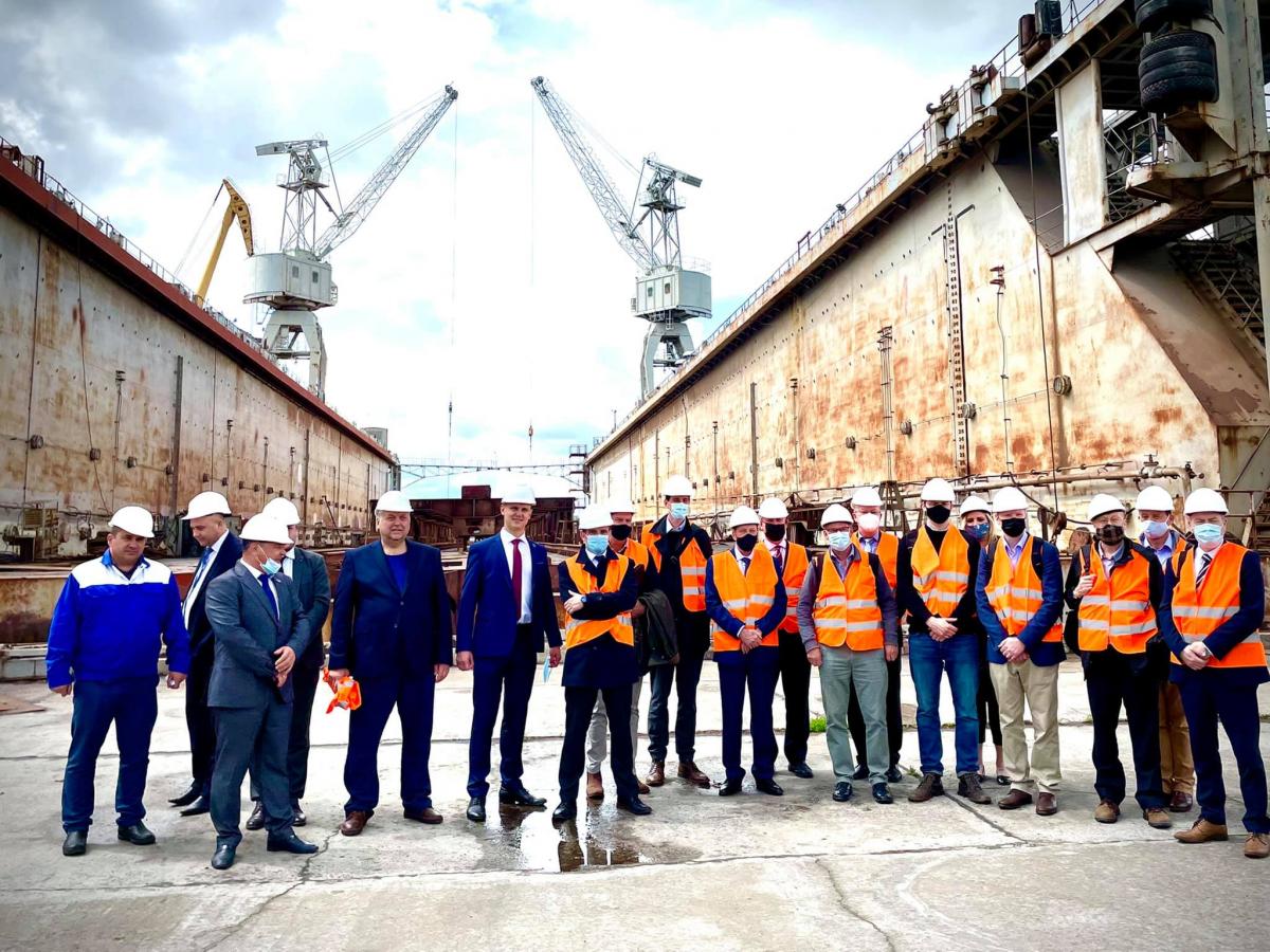 Les Britanniques financent les chantiers navals Ukrainiens