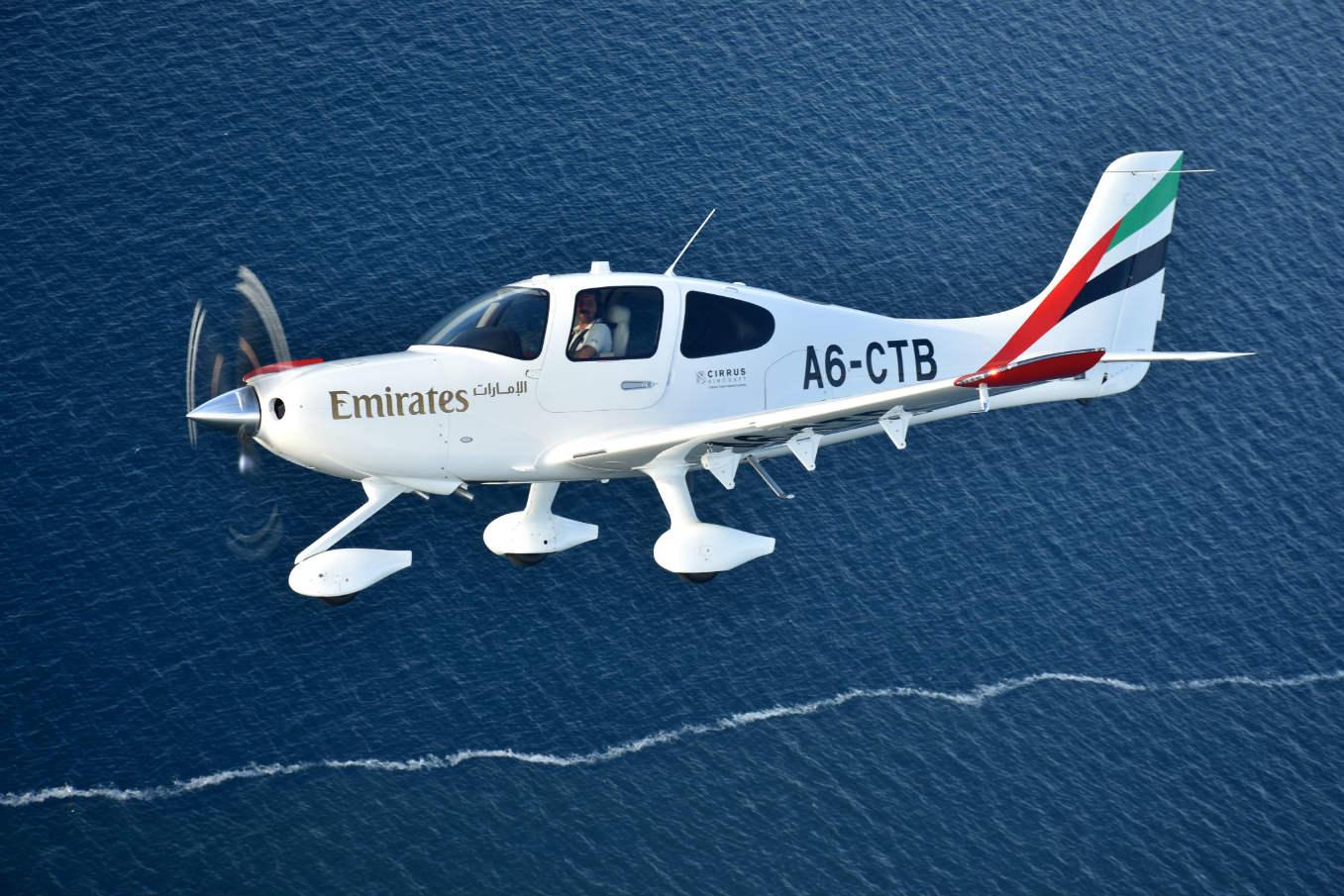 Emirates Flight Training Academy receives first aircraft