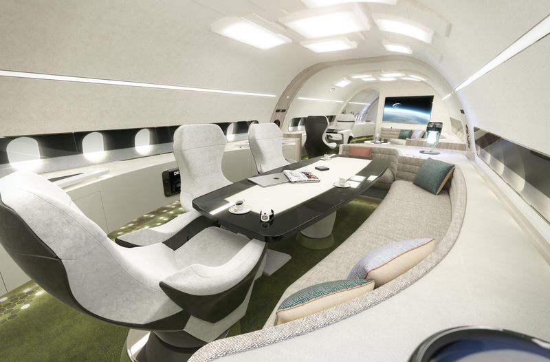 Airbus peaufine la déco de ses limousines du ciel