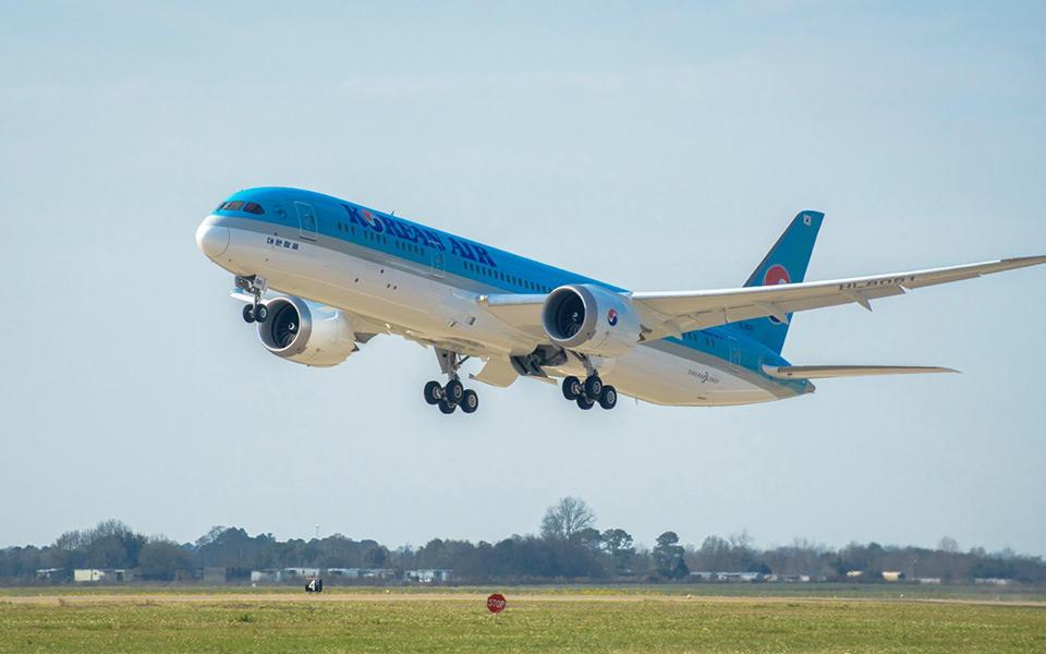 Premier Boeing 787-9 pour Korean Air