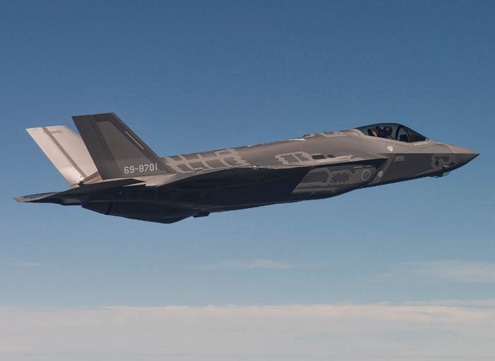 Le premier F-35A japonais vole