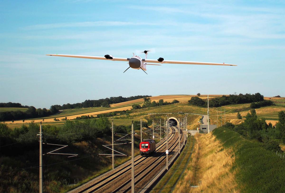 Des drones inspectent le réseau ferroviaire allemand