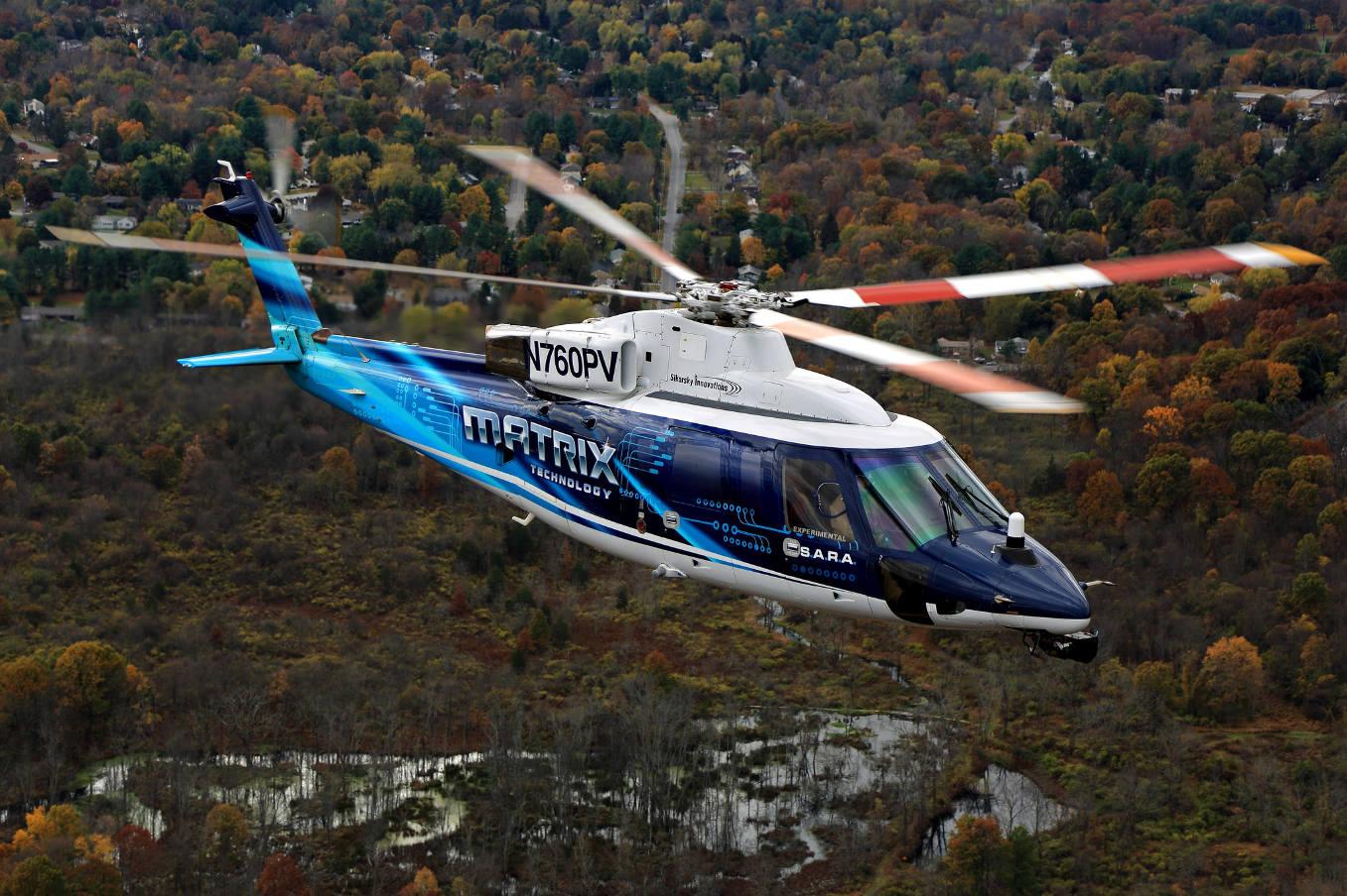 L'automatisation des taches pilote avance chez Sikorsky