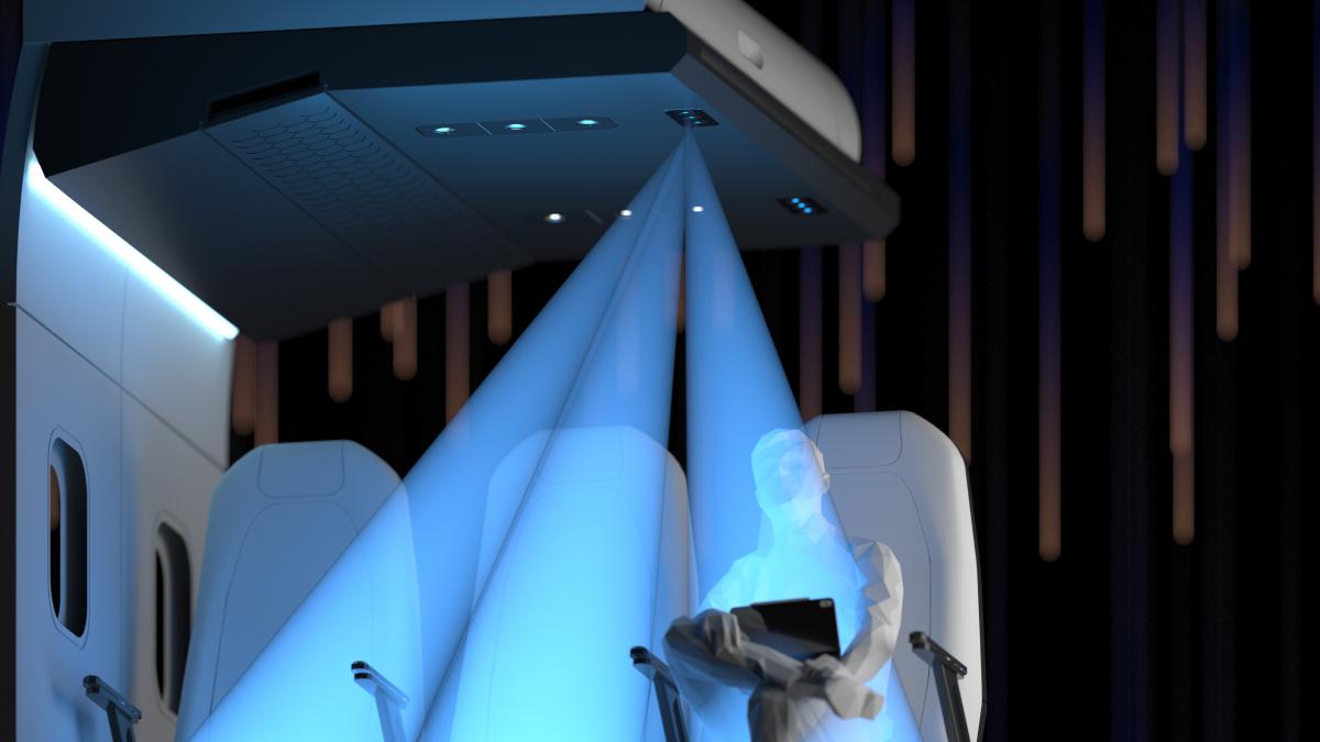Latécoère, Signify et Huneed Technologies sur le LiFi à bord des avions commerciaux