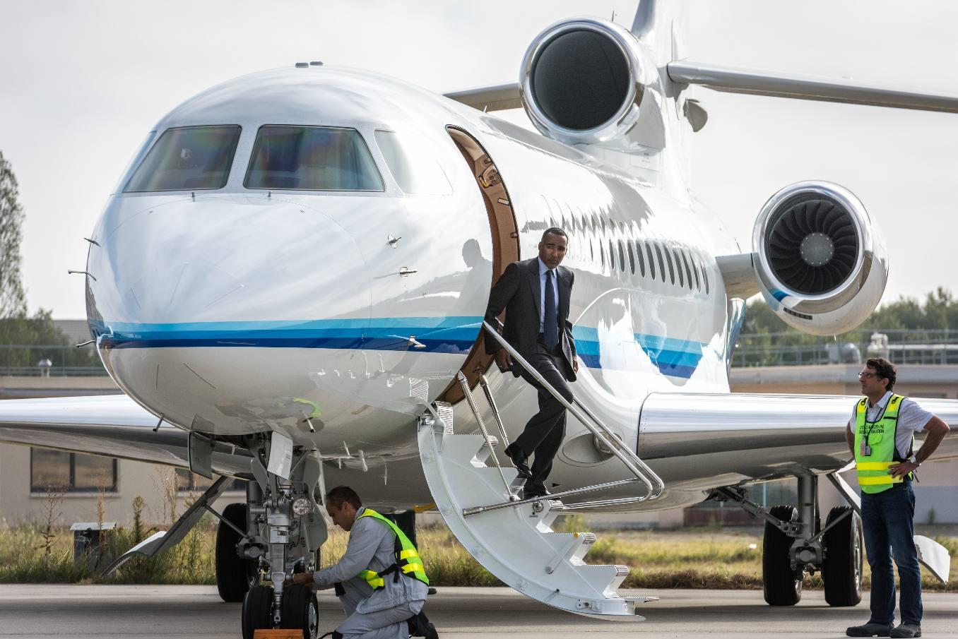Dassault Aviation livre le premier Falcon 8X