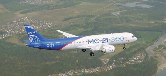 Retour sur le premier vol du MC-21 russe