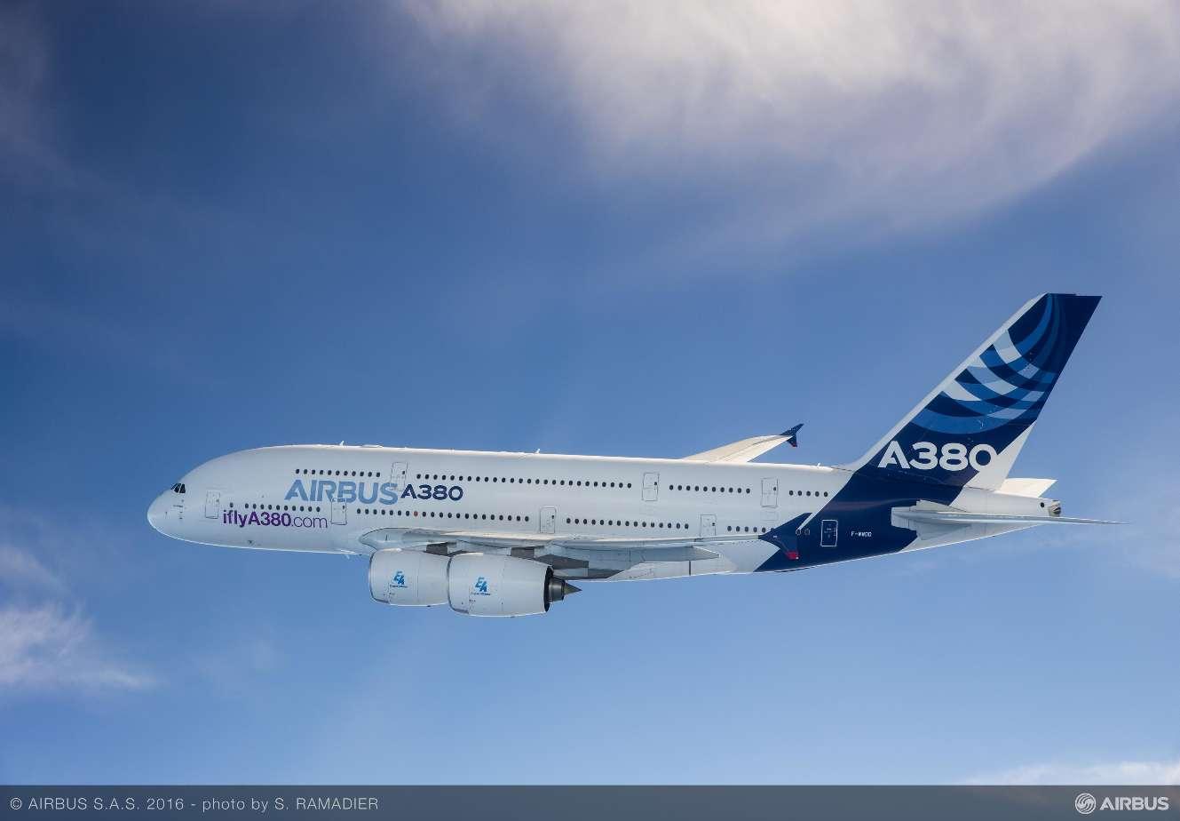 Un A380 va au Musée de l'Air et de l'Espace