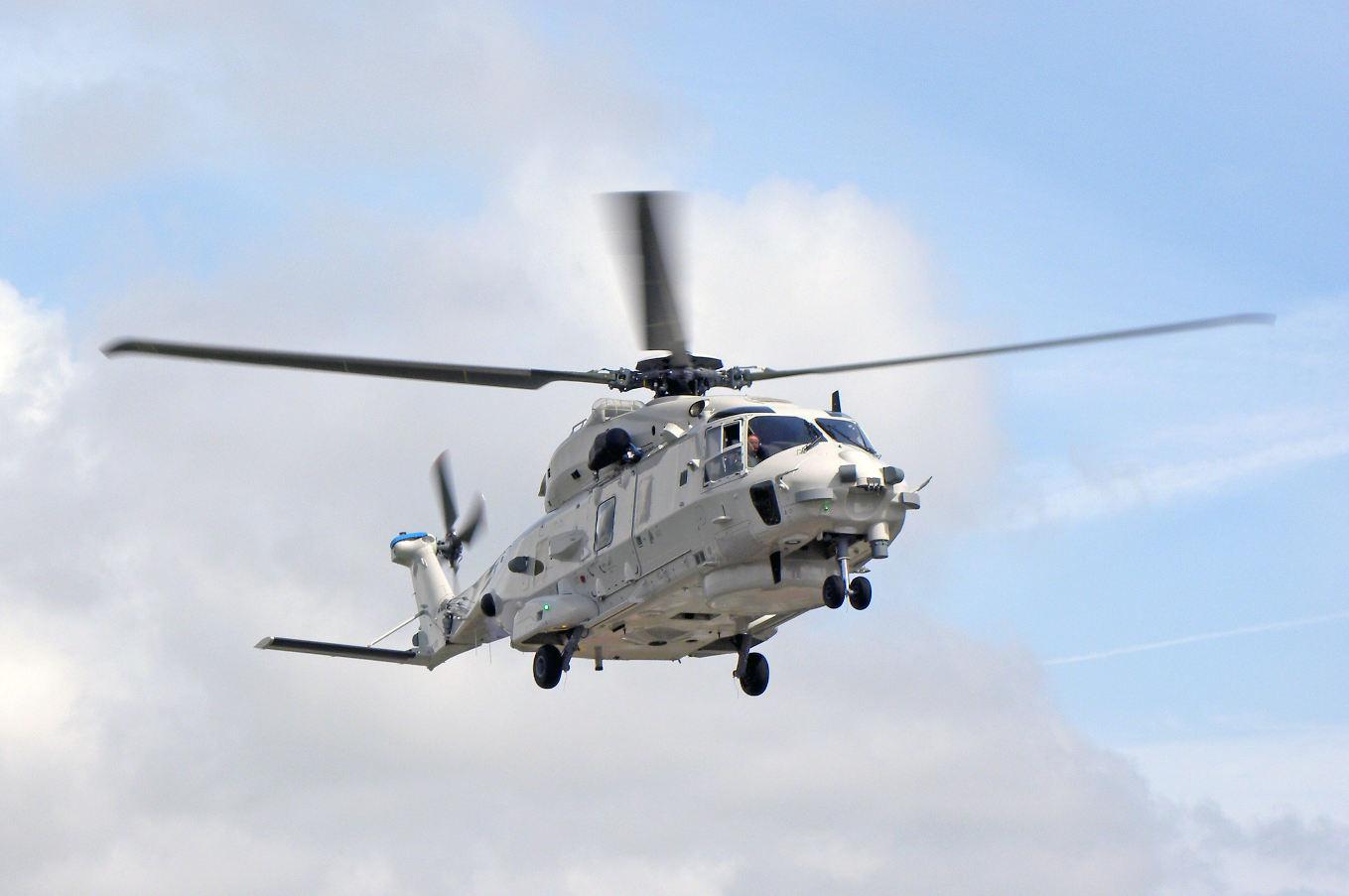 L'Italie reçoit son premier MH90