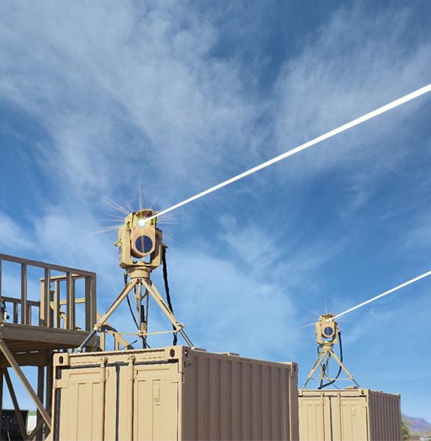 Lutte anti-drones: les Etats-Unis mettent en œuvre des lasers