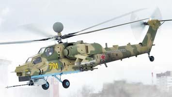 Nouveau missile anti-char pour le Mi-28NM
