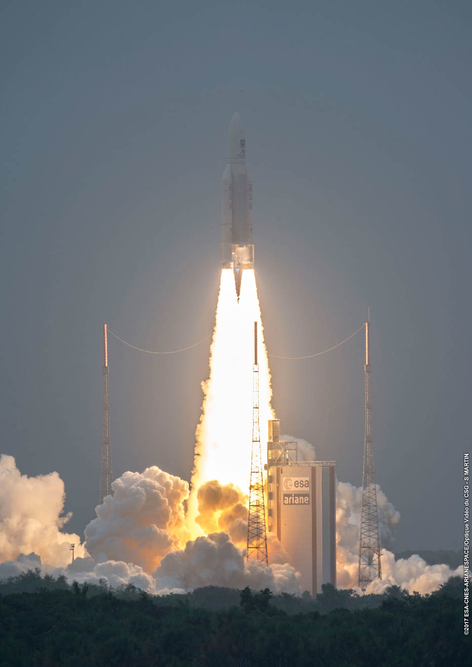 Ariane 5 expands Galileo constellation