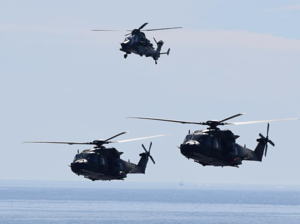 Forces spéciales : Le GCOS réclame des NH90 et plus de drones