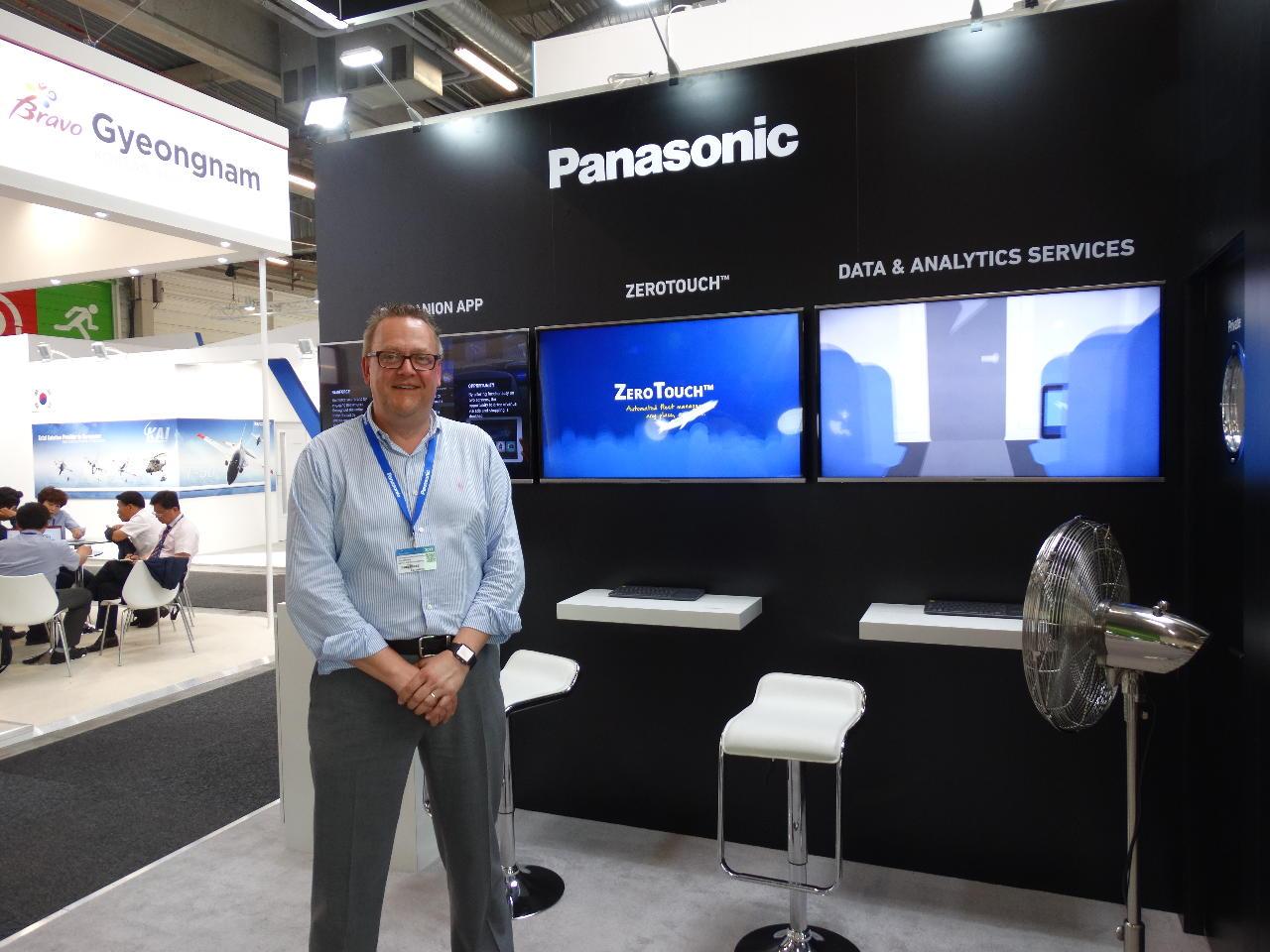 Bourget 2017 : Southwest, premier client de Panasonic pour ZeroTouch