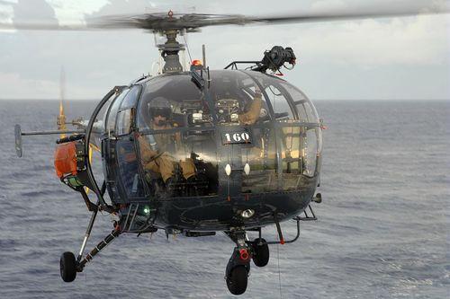 Une Alouette III s'écrase à Nouméa