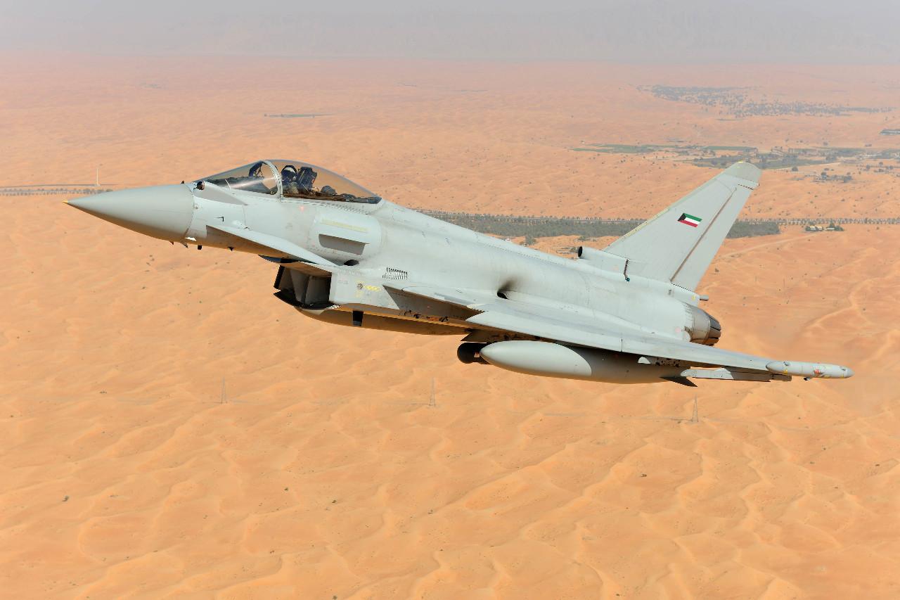 Succès au Koweit pour l'Eurofighter