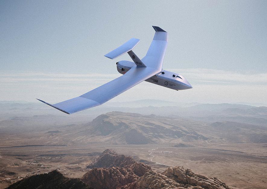 IDEX 2021: Paramount Group dévoile le drone N-Raven, pouvant voler en essaim