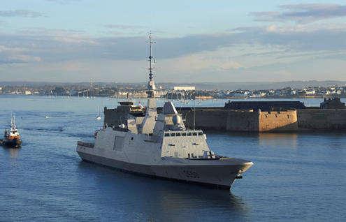 Une cinquième FREMM pour la Marine nationale