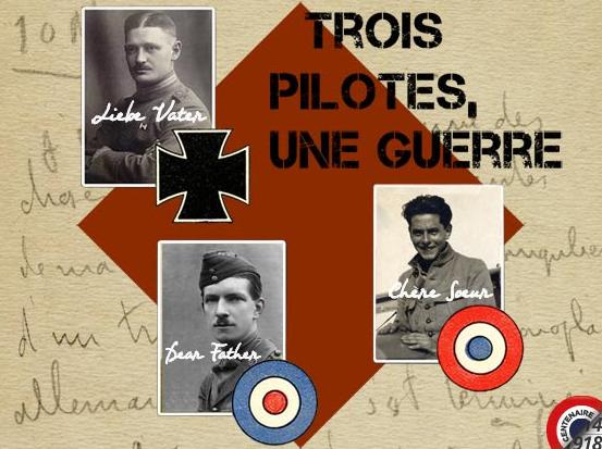 """Exposition """"Trois pilotes, une guerre"""" au Musée de l'Air et de l'Espace"""