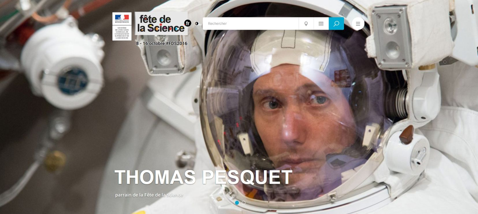Thomas Pesquet parrain de la 25e Fête de la Science