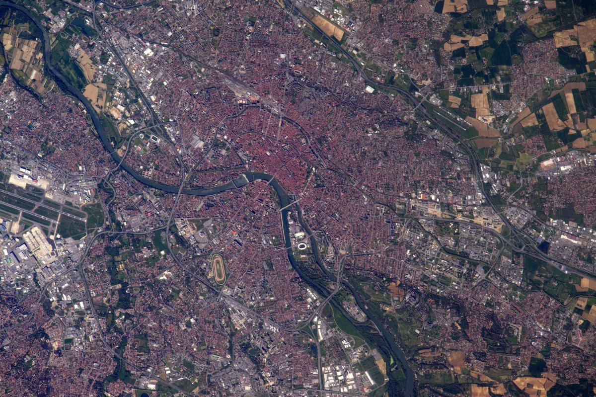La Terre dans l'œil de Thomas Pesquet, nouvelle saison : Toulouse, la ville rose