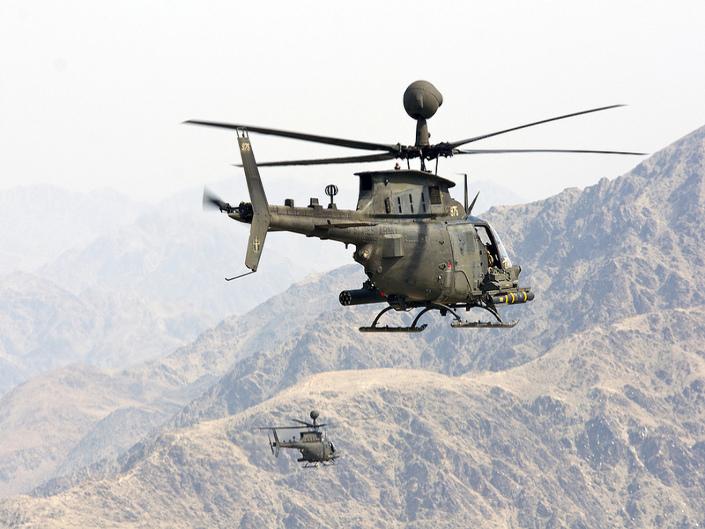 Des OH-58D pour la Croatie