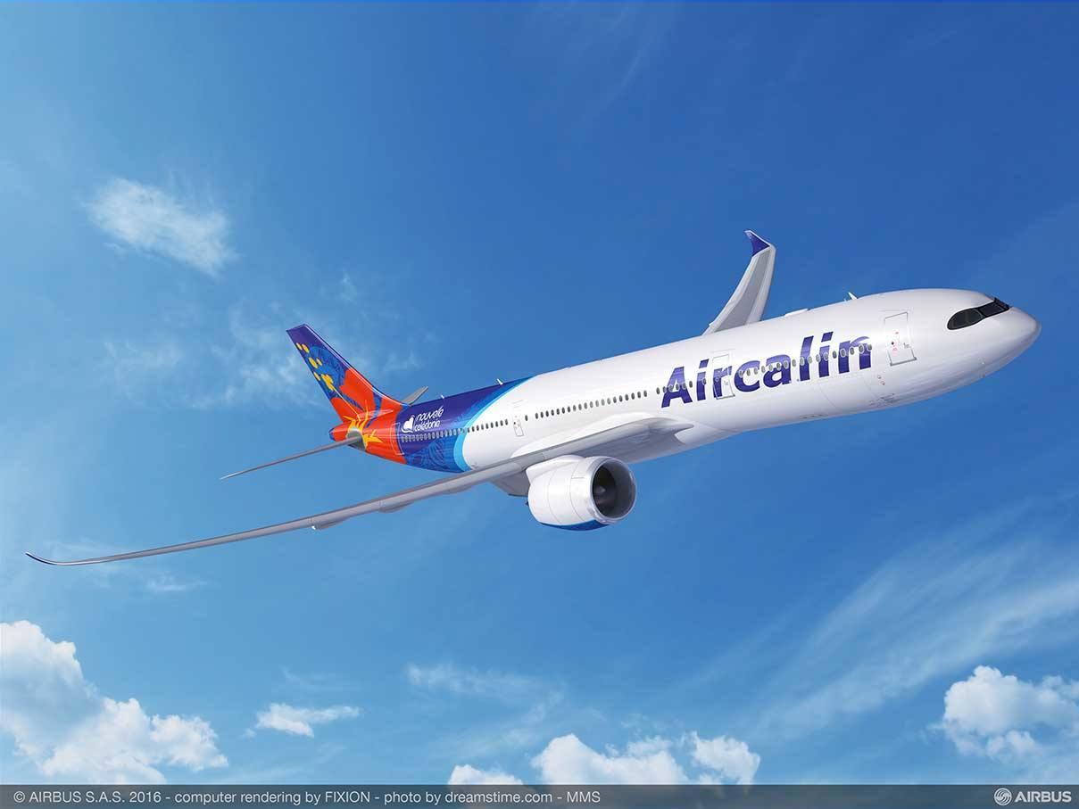 Aircalin prend de l'A320neo et de l'A330neo