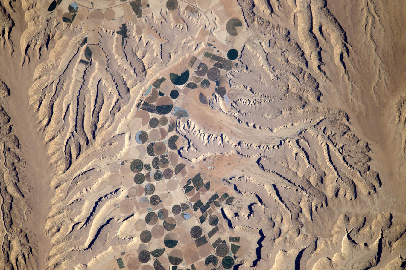 La Terre dans l'oeil de Thomas Pesquet #79 : en Arabie Saoudite