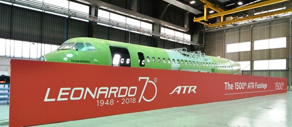 Leonardo delivers 1,500th ATR fuselage