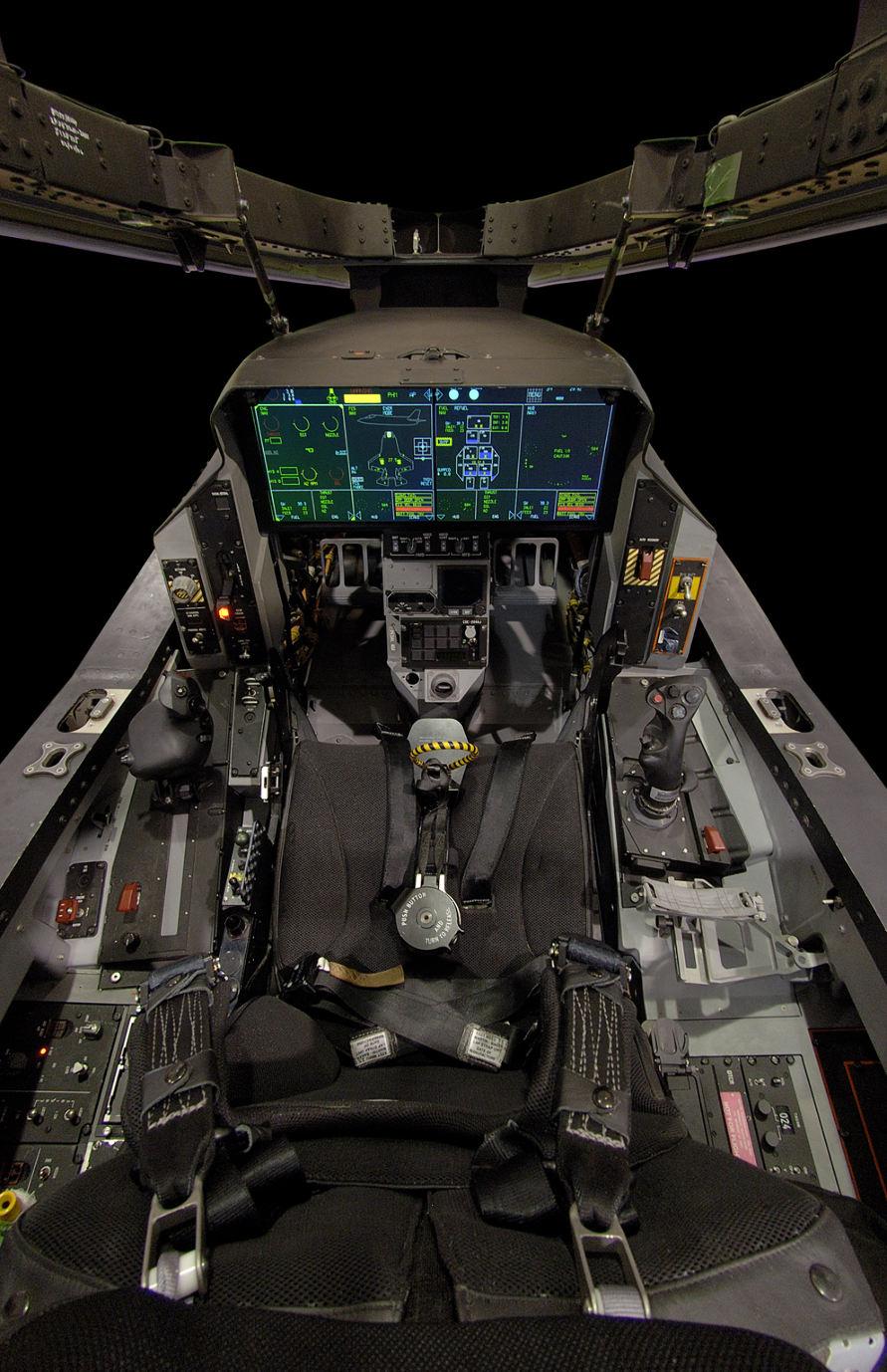 Nouvel écran panoramique pour le F-35