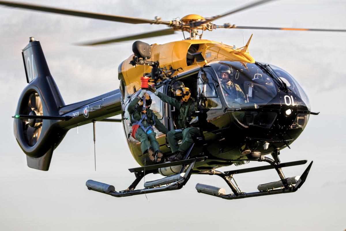 Le Royaume-Uni prend quatre Airbus H145 de plus