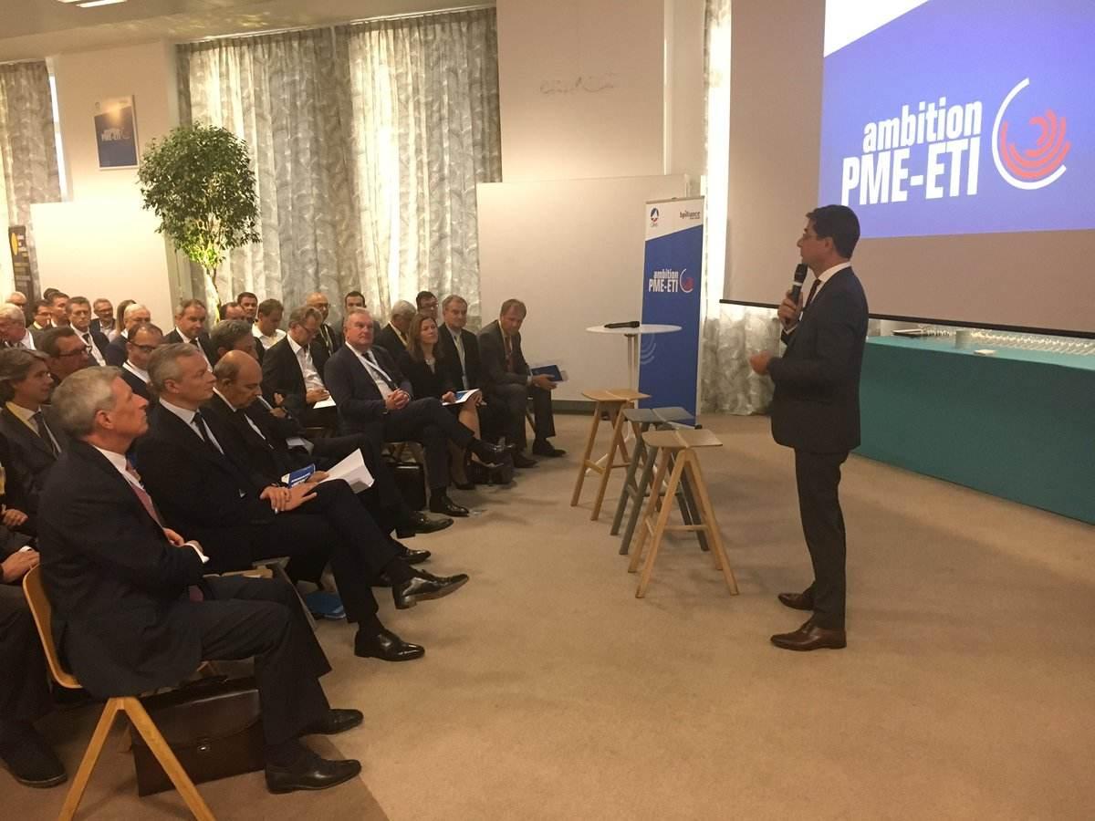 Les 60 du plan Ambition PME-ETI