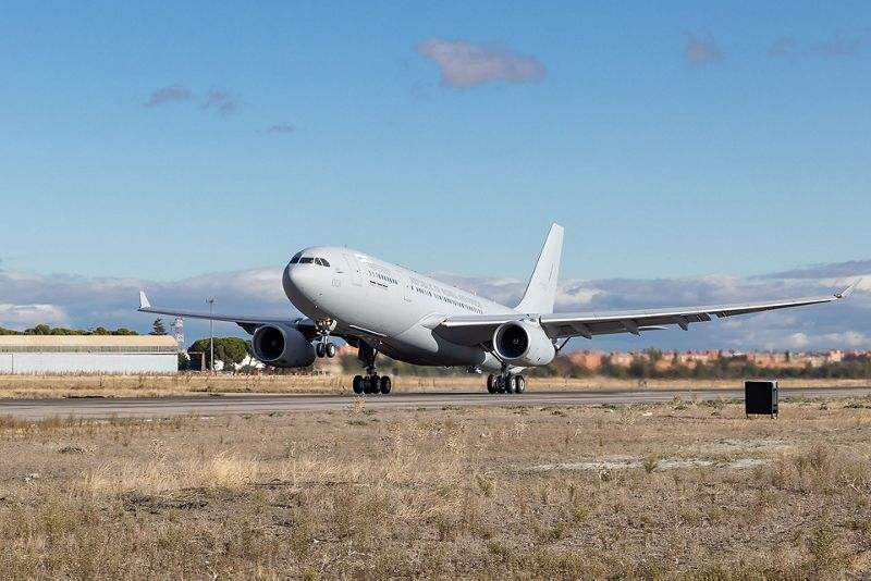 First Airbus A330 MRTT for South Korea lands in Busan