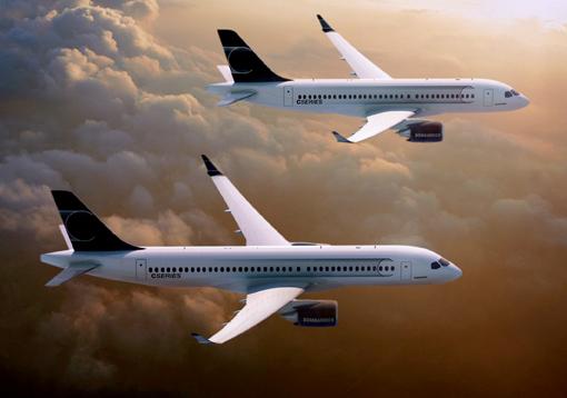 Bombardier : forte baisse des commandes en 2013