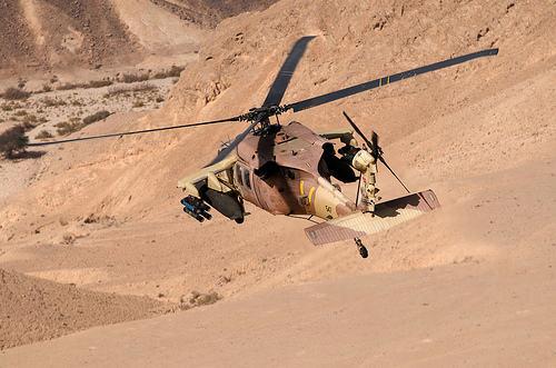 Un Black Hawk saoudien s'écrase au Yémen