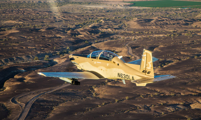 L'AT-6C Wolverine: les nouvelles griffes de la Tunisie