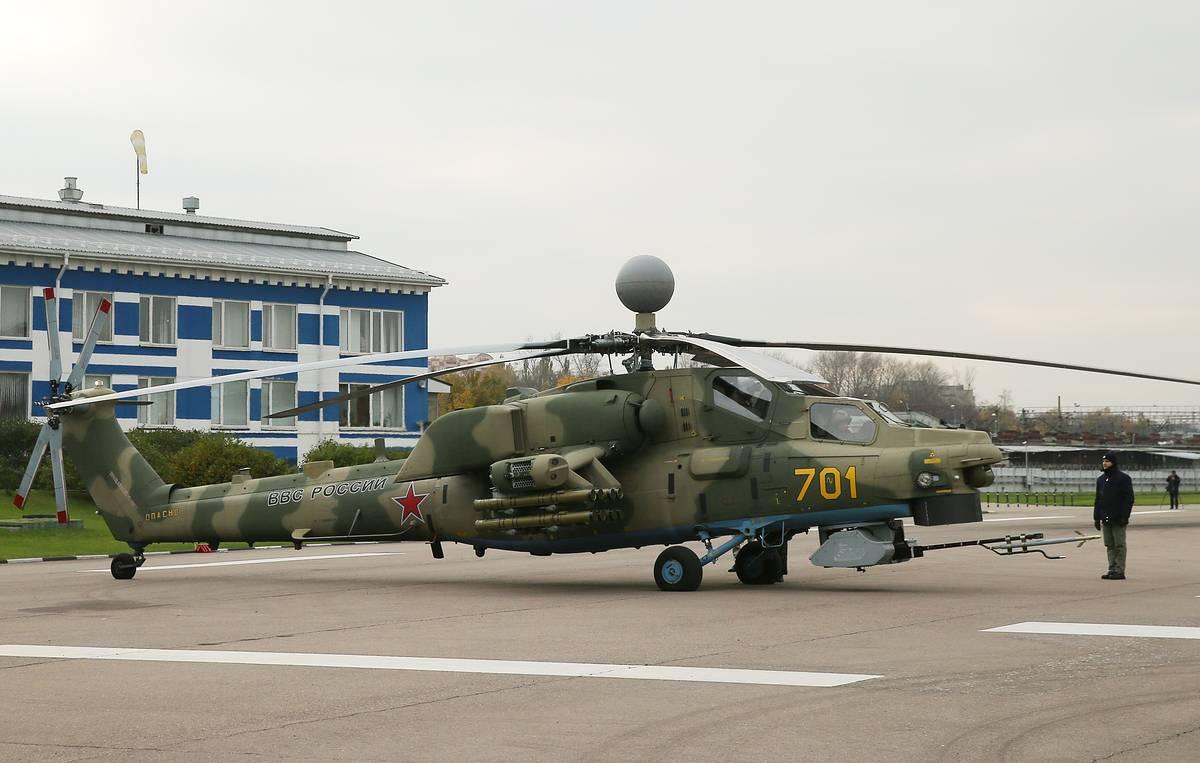 Russie: Nouveau missile air-sol disruptif pour le Mi-28NM