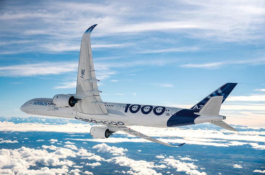 Retour sur l'Airbus A350-1000
