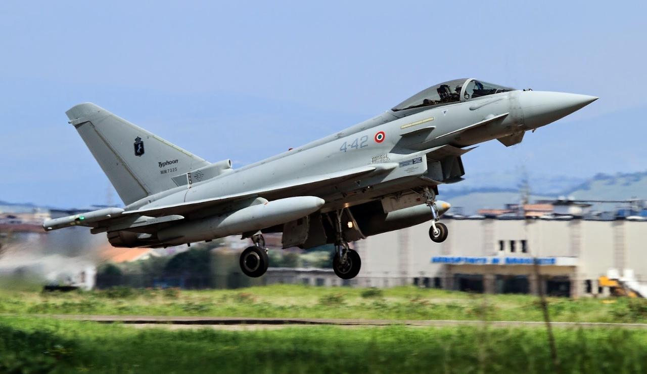 Premier Red Flag pour les Eurofighter Typhoon