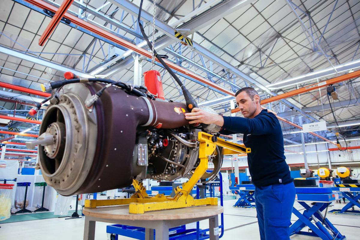 Safran signe un contrat de maintenance pour les moteurs des hélicoptères EH101 Merlin portugais