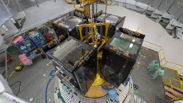 Galileo satellites set for launch