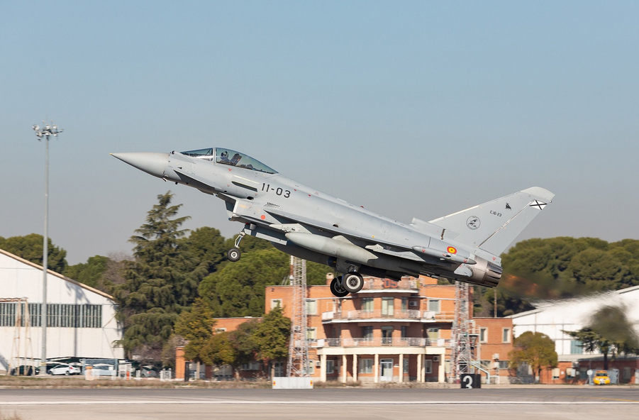 Airbus delivers upgraded Eurofighter to Spanish AF