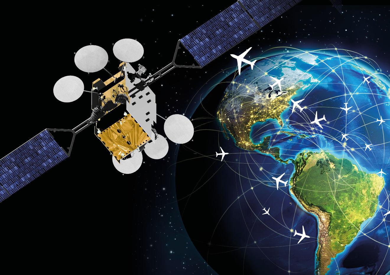Wifi à bord des avions : Thales et SES dévoilent FlytLIVE