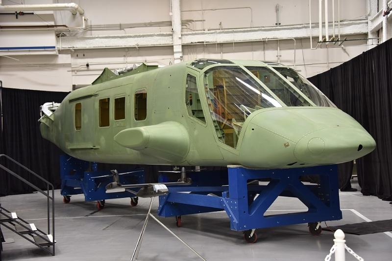 Le premier fuselage du Bell V-280 a été assemblé