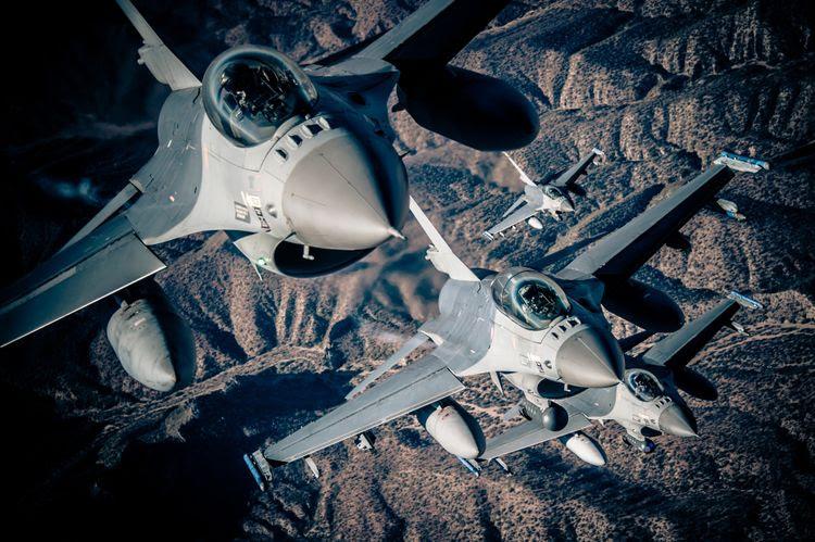 Northrop Grumman fournira la suite de guerre électronique du F-16